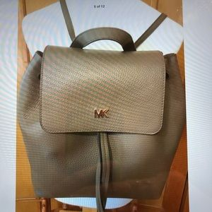 Michael KORS Junie Studio Leather Backpack Bag NWT